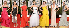 All the Celebrity Arrivals on the 2014 Golden Globes Red Carpet