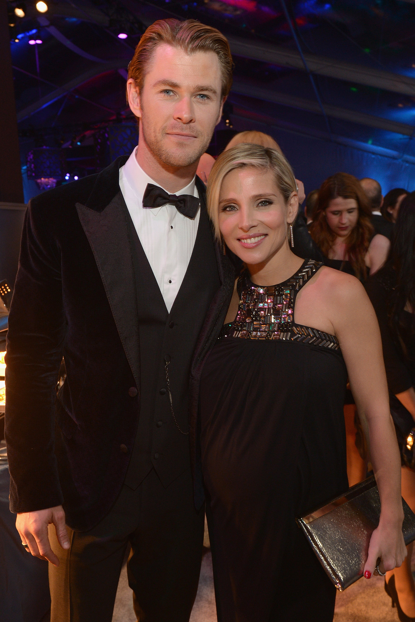 Chris Hemsworth and Elsa Pataky partied together.