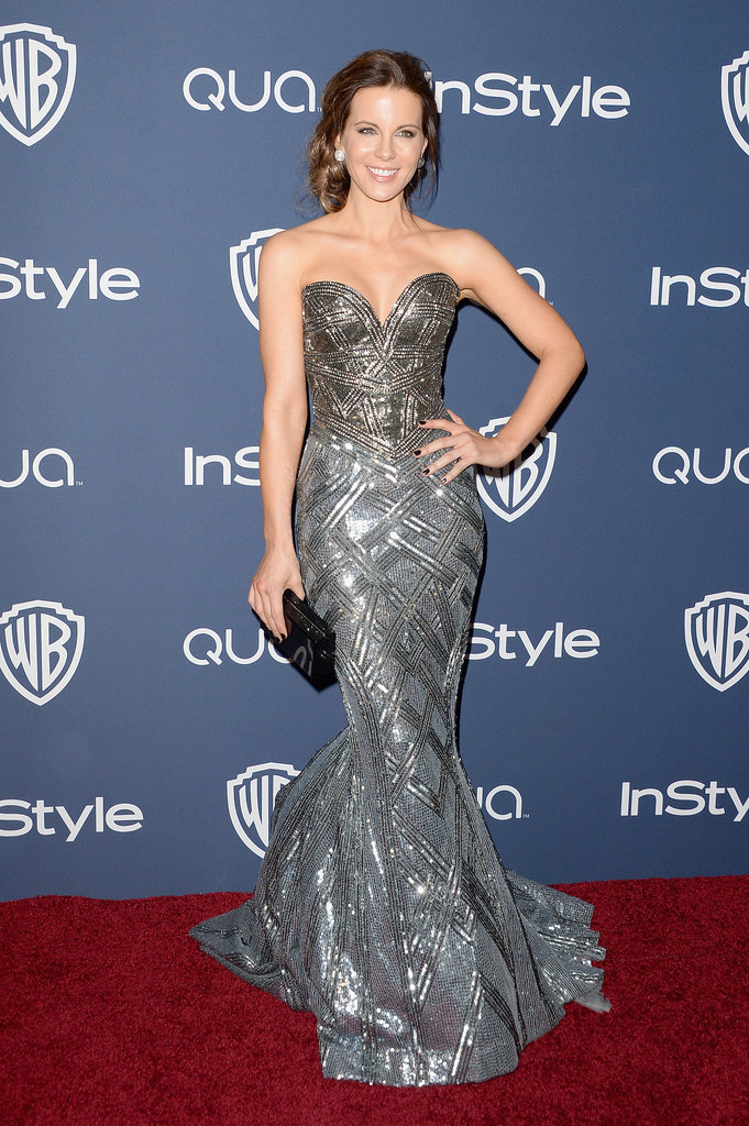 Kate Beckinsale resurfaced at the InStyle party.