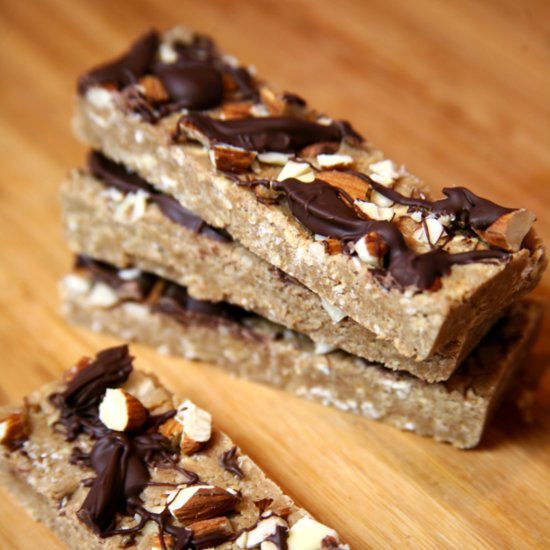 Chocolate Almond Protein Bars You'll Mistake For Dessert