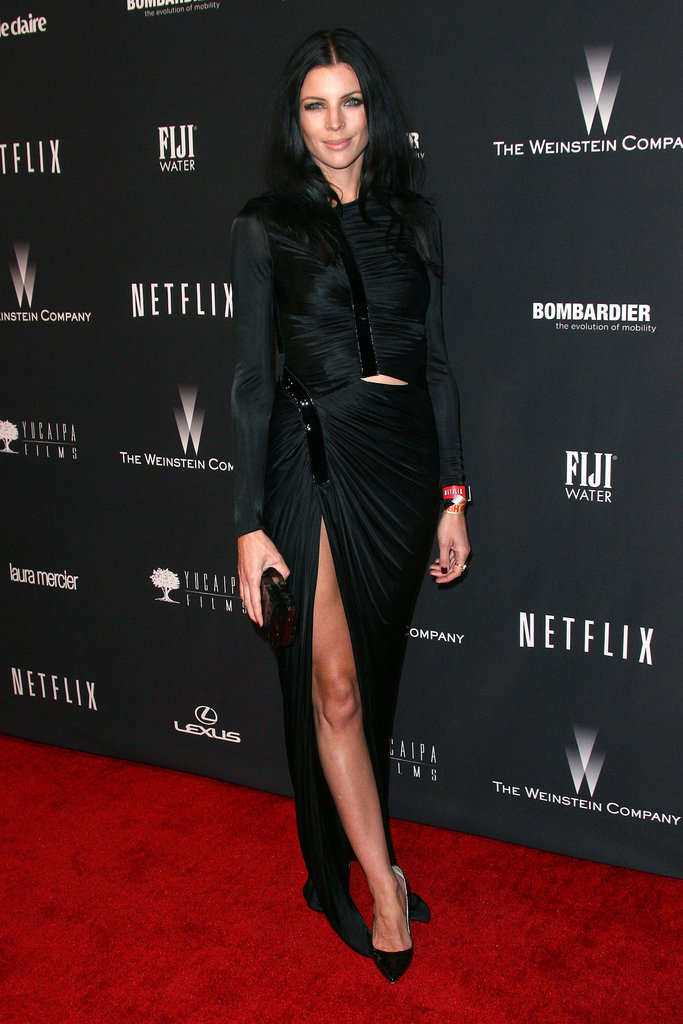 Liberty Ross at The Weinstein Company's Golden Globe Awards afterparty.
