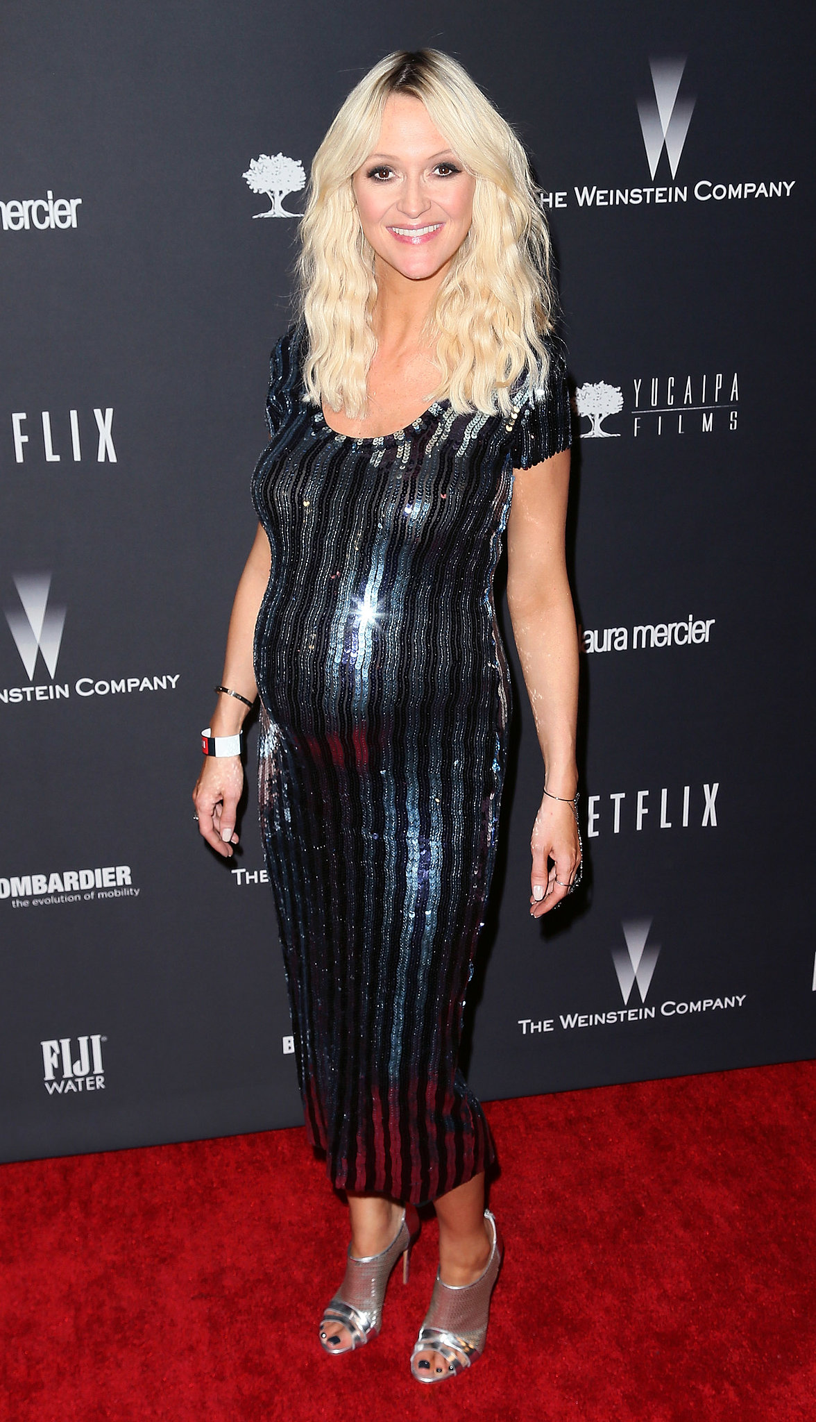 Zanna Roberts Rassi at The Weinstein Company's Golden Globe Awards afterparty.