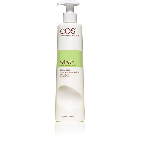 Eos's Refresh Active Care Hand and Body ($8) is paraben-free, hypoallergenic, and dye-free, which means the only thing you're getting is moisturized skin.