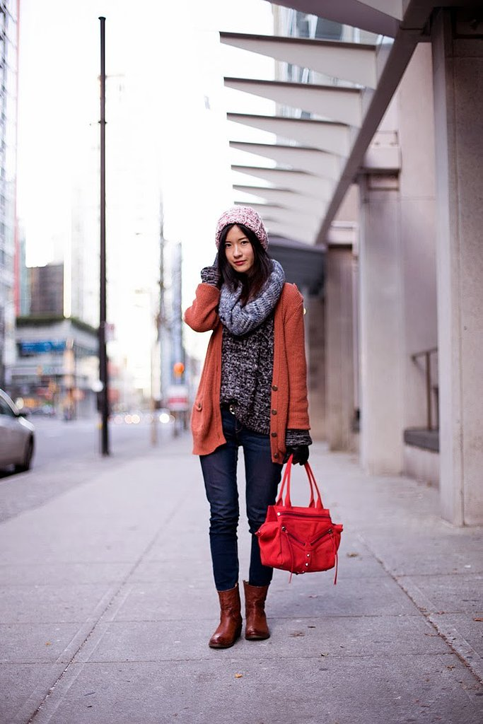 Congrats, Claire Luu! We can't handle how cozy you look!