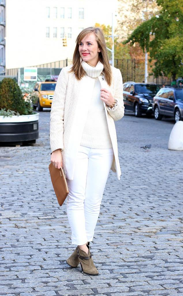 Congrats, White Shoes Blog! Olivia Pope would totally wear this look.