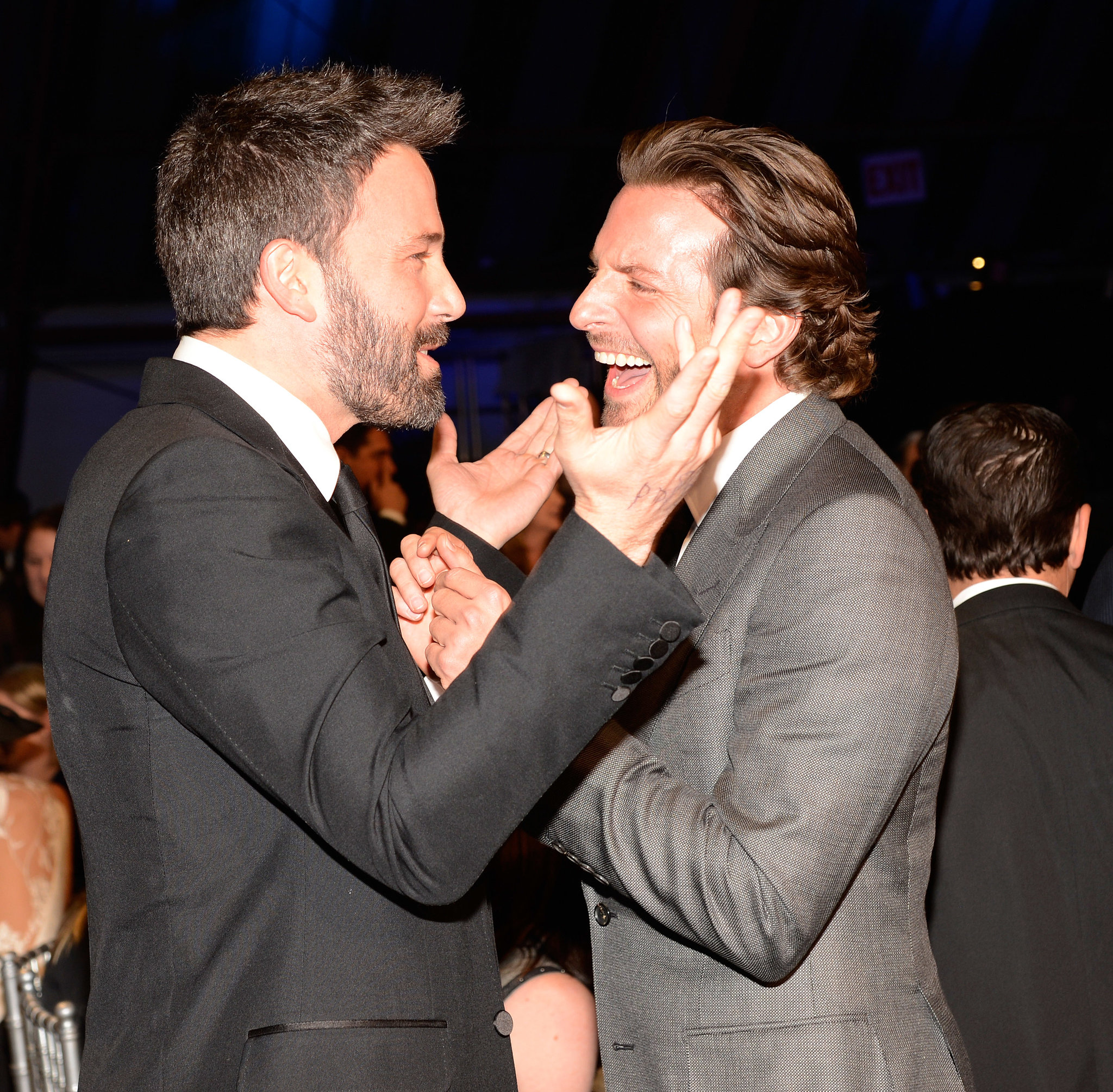 That time at the 2013 awards when we were pretty sure Ben Affleck and Bradley Cooper had serious man crushes on each other.