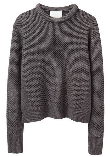 3.1 Phillip Lim  Cropped Roll-Neck Pullover