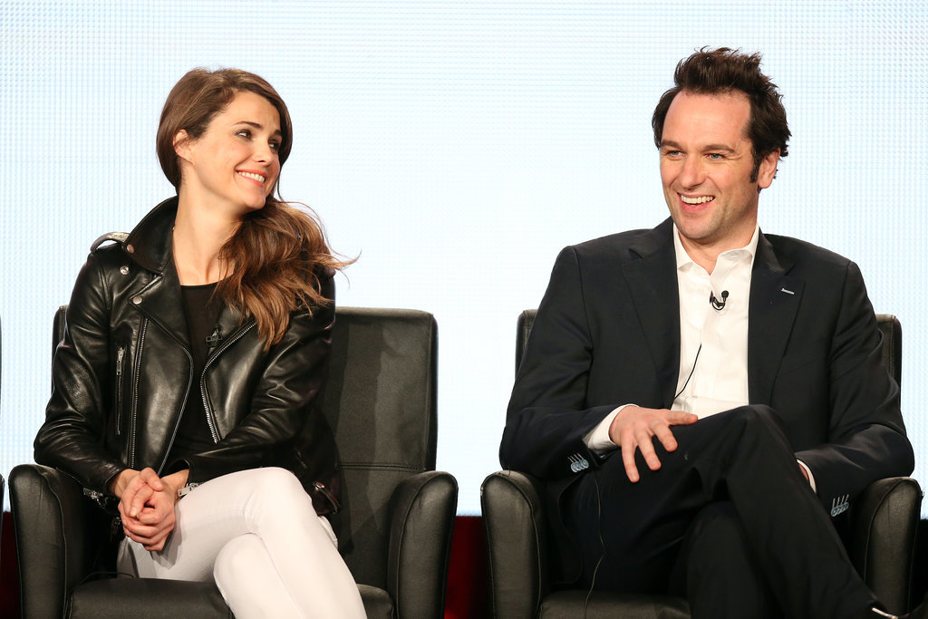 Keri Russell and Matthew Rhys talked about The Americans.