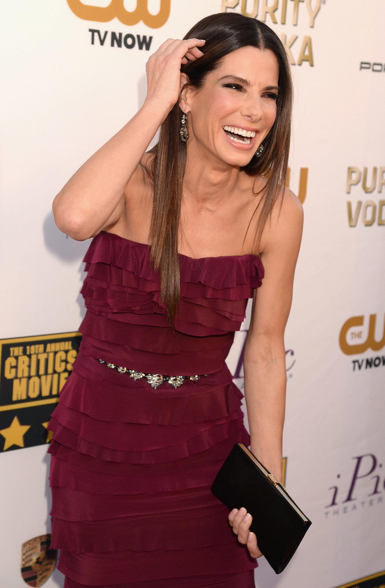 Sandra Bullock Has a Blast Everywhere She Goes, Apparently!