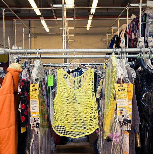 This yellow mesh tank top was a reminder of how far we (and the cast of Girls) have come since last year. Source: Instagram user thecoveteur