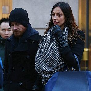 Michael Fassbender Holding Hands With Madalina Ghenea