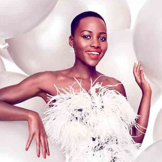 How Lupita Nyong'o Styles Her Afro