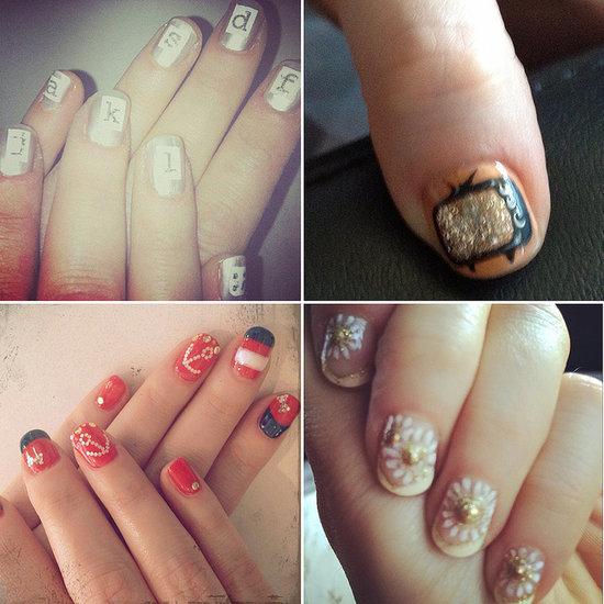 Celebrate Zooey Deschanel's Birthday by Ogling Her Best Nail Art