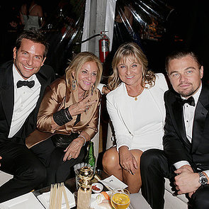 Bradley Cooper, Leonardo DiCaprio and Their Mums
