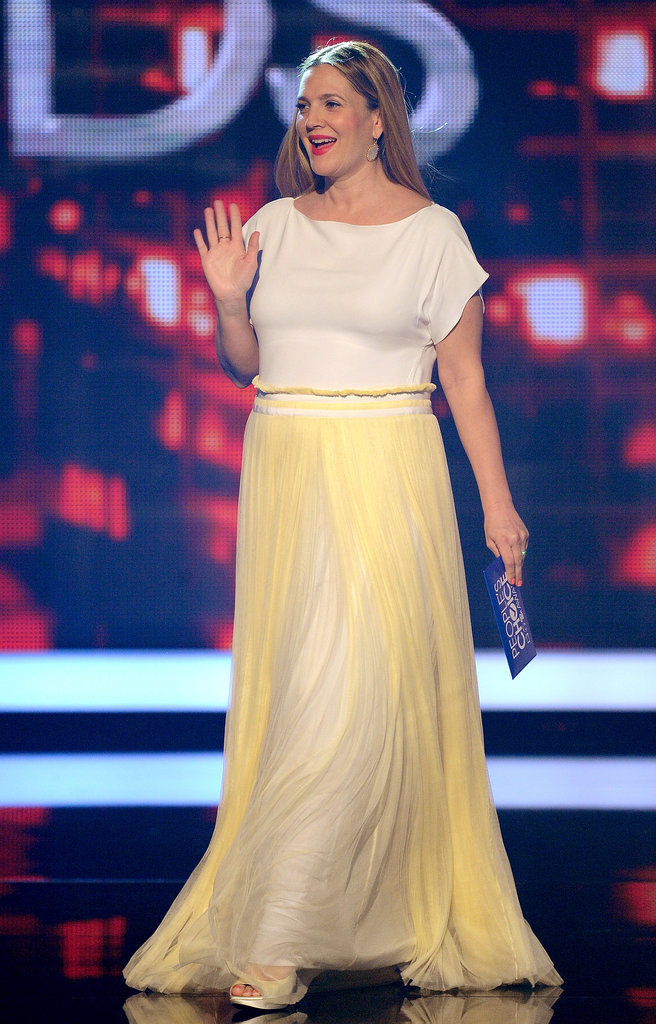 Drew Barrymore at the People's Choice Awards