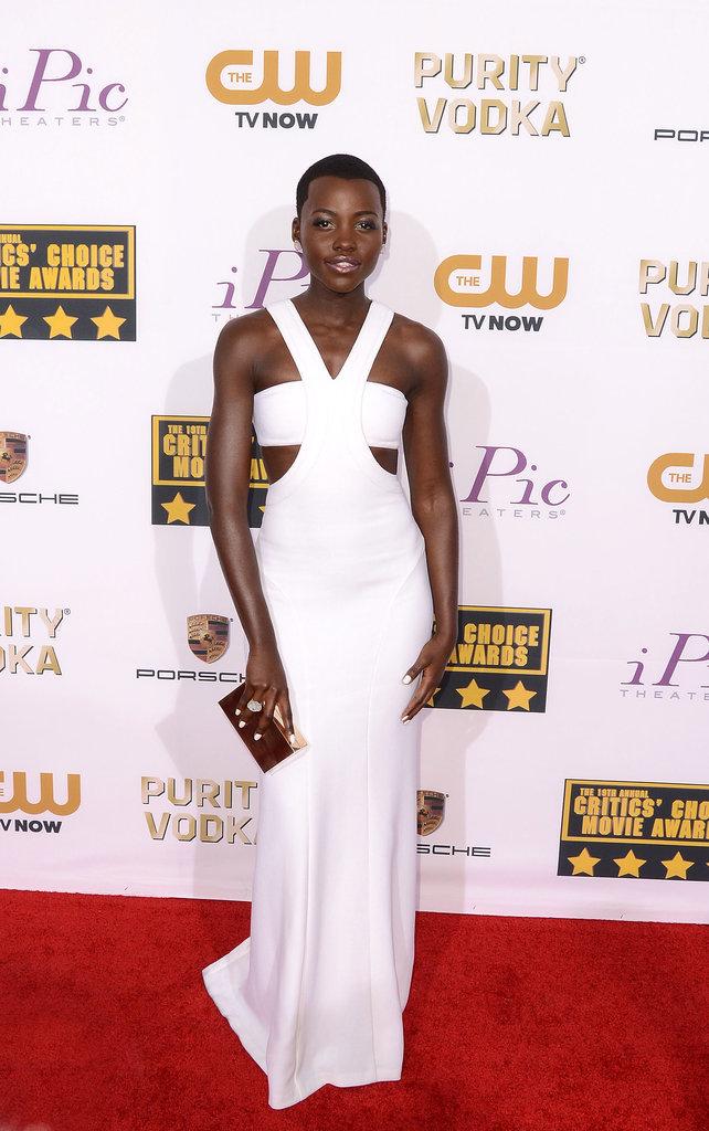 Lupita Nyong'o at the Critics' Choice Awards