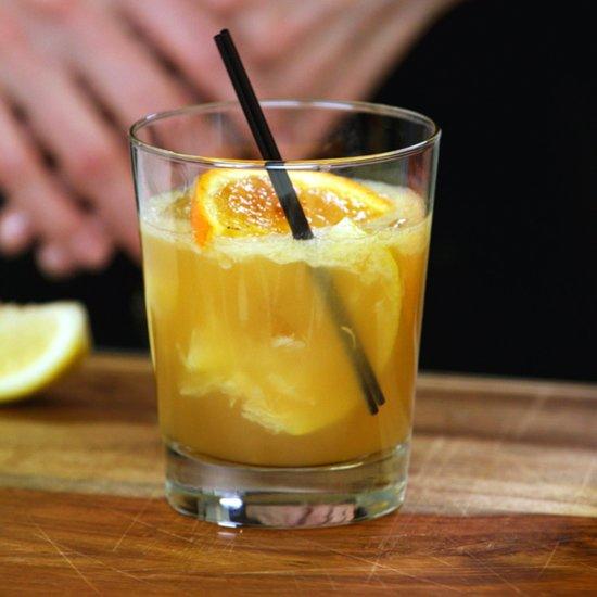 Passion Fruit Bourbon Cocktail Recipe