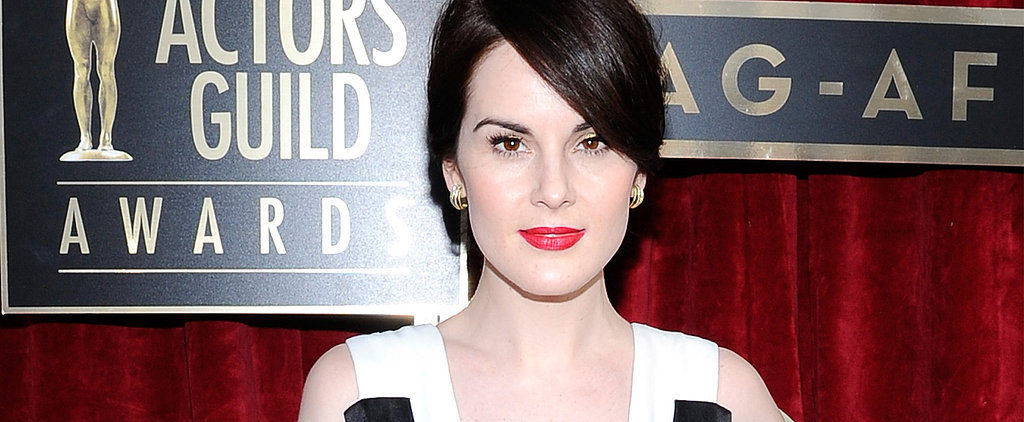 How Cute Is Michelle Dockery's Mini Ponytail?
