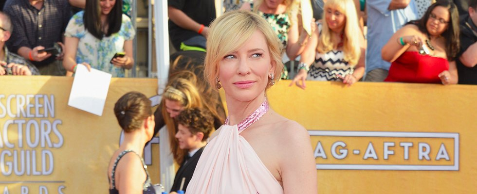 Love Cate Blanchett's Pink Play at the SAG Awards?