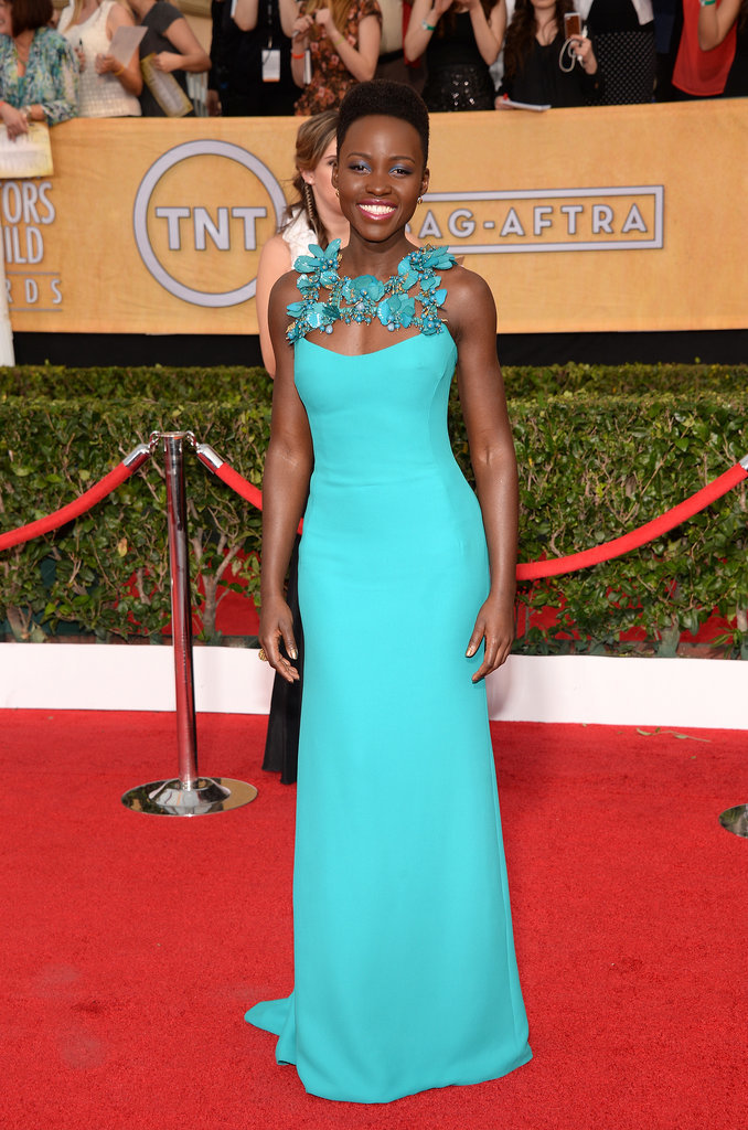 Lupita Nyong'o at the 2014 SAG Awards