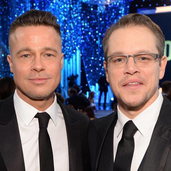 Brad Pitt at the SAG Awards 2014