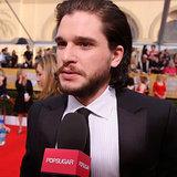 Kit Harington Interview at 2014 SAG Awards (Video)