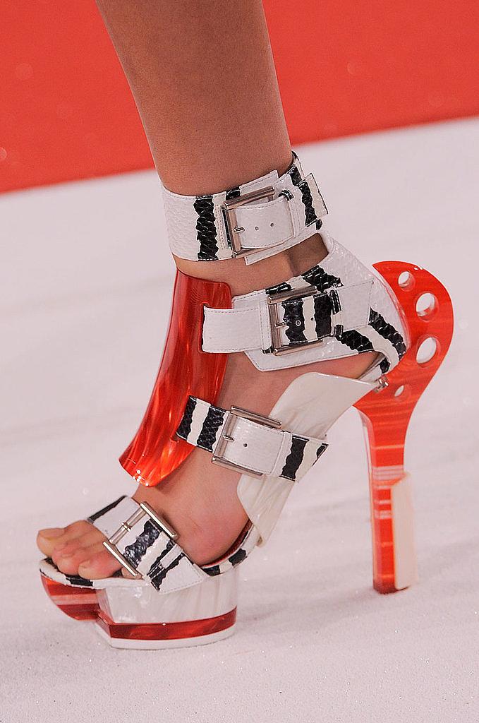 Summer Booties: Alexander McQueen Spring 2014
