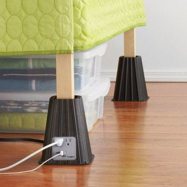 7-Inch Power Bed Riser