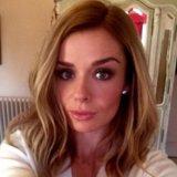 Katherine Jenkins's New Dark Blonde Hair Colour   Photos