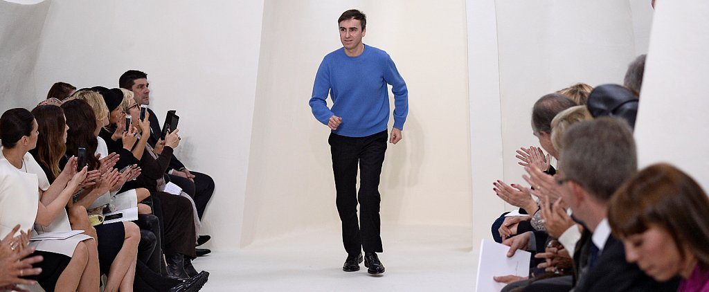 Here's Yet Another Reason to Love Raf Simons