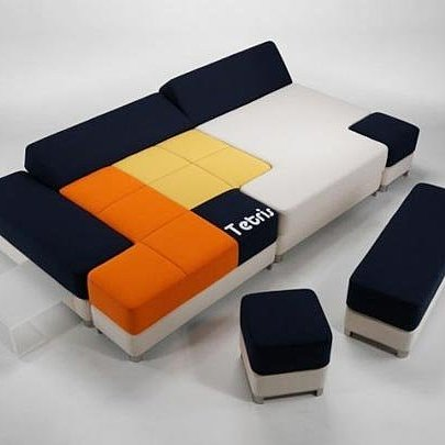 Tetris Couch and Furniture