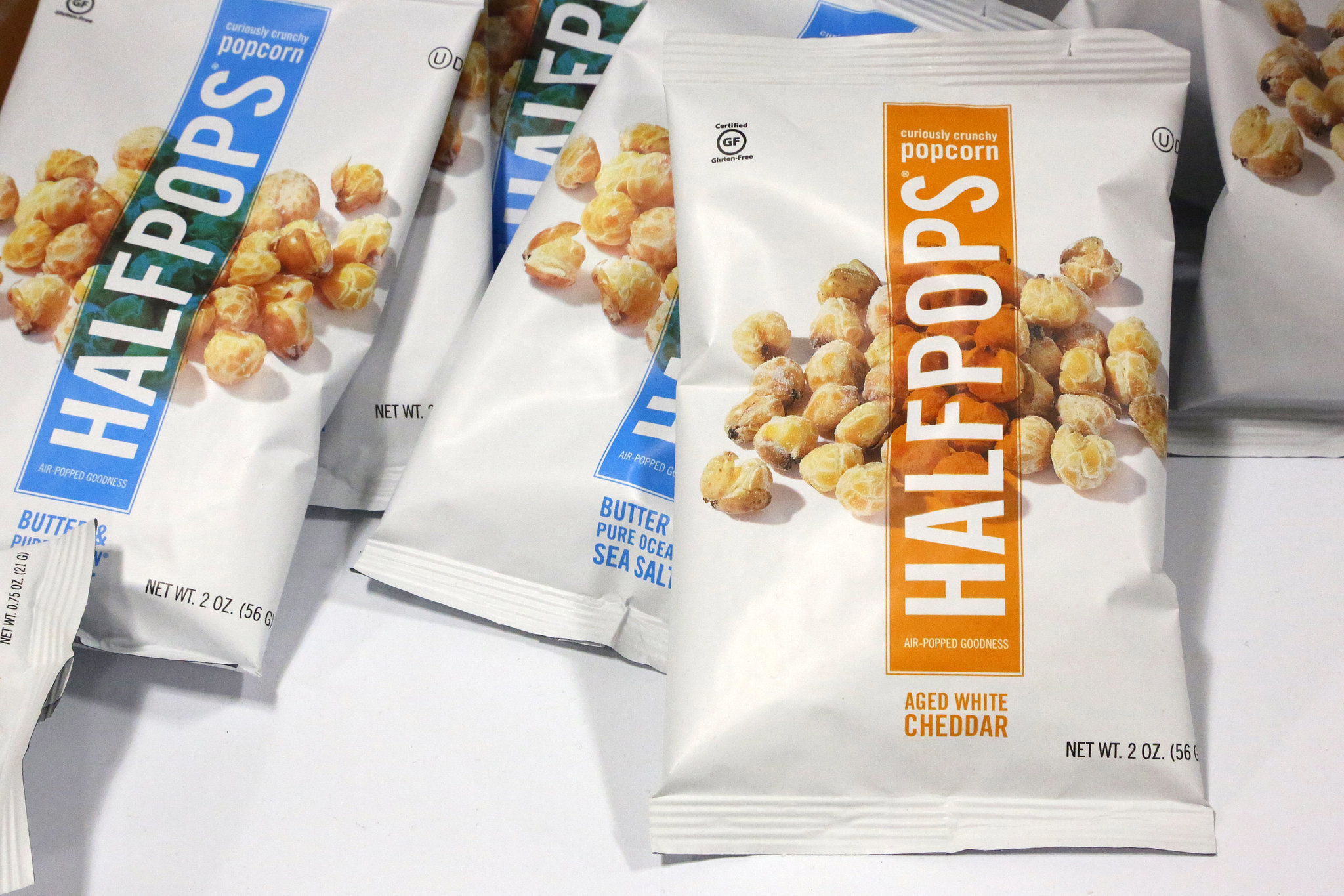 Best Salty Snack (Runner-Up): Halfpops Aged White Cheddar