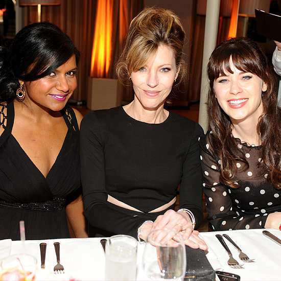 Mindy Kaling and Zooey Deschanel at Elle TV Party | Pictures