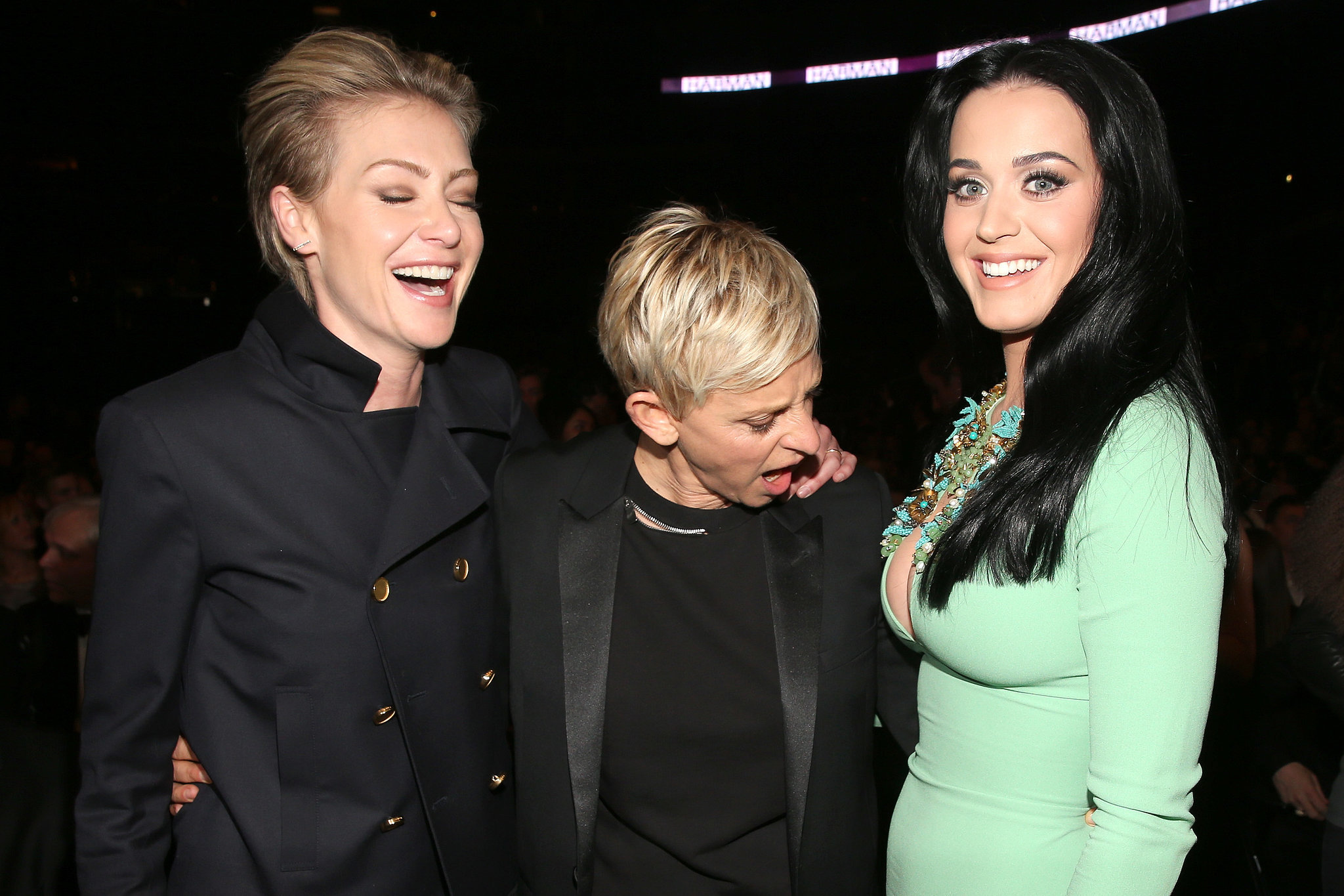 Katy Perry and Ellen DeGeneres Portia De Rossi