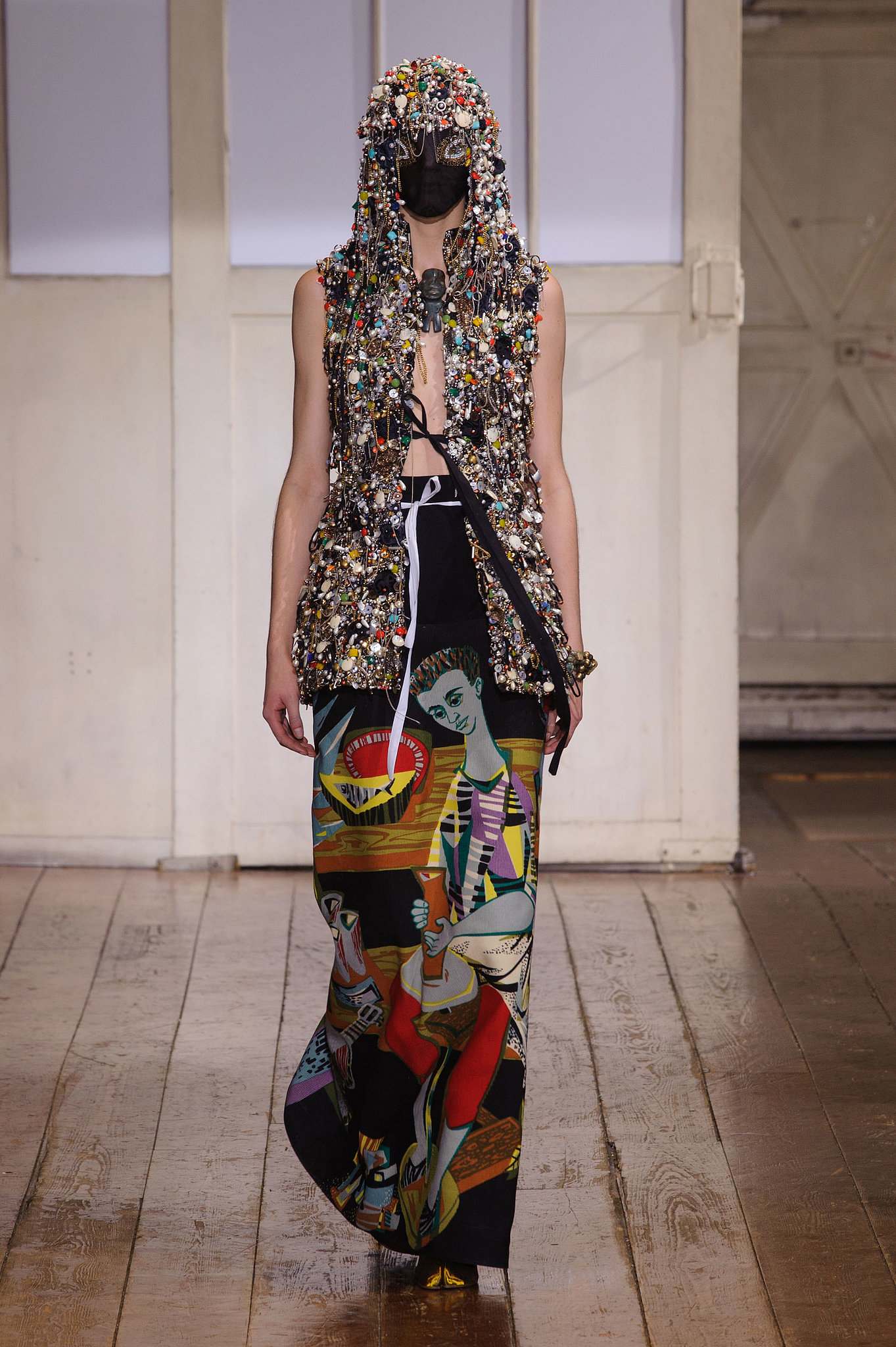 Maison martin margiela haute couture spring 2014 so for Maison de haute couture