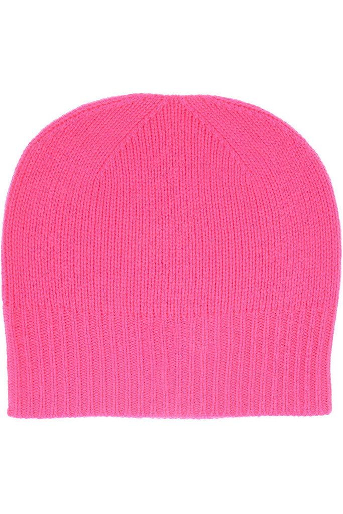 Madeleine Thompson Hot Pink Cashmere Beanie