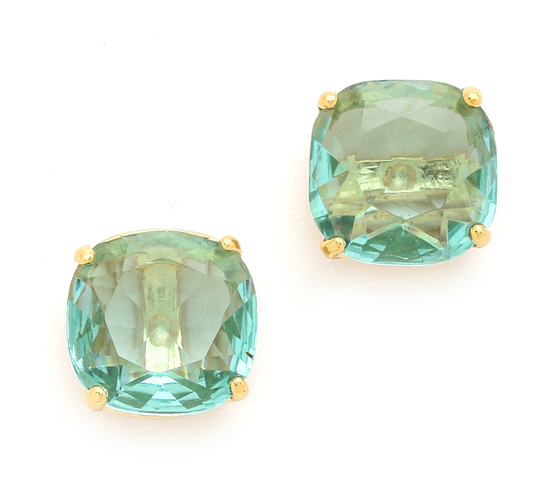 Kate Spade Small Square Turquoise Stud Earrings