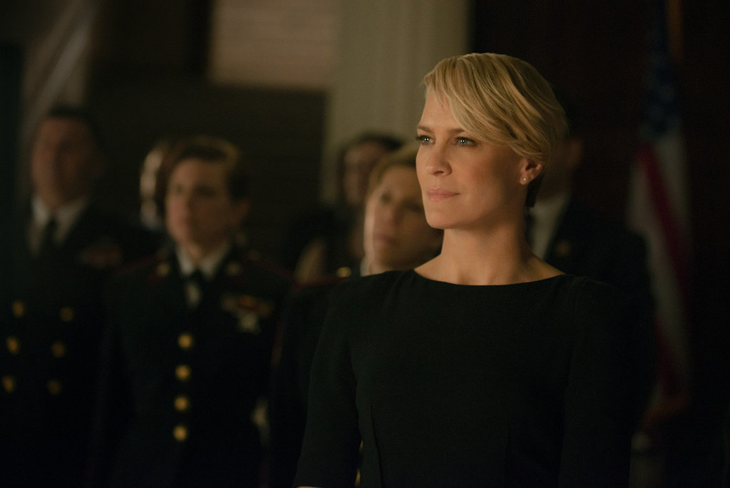 Robin Wright as Claire Underwood on House of Cards. Source: Netflix
