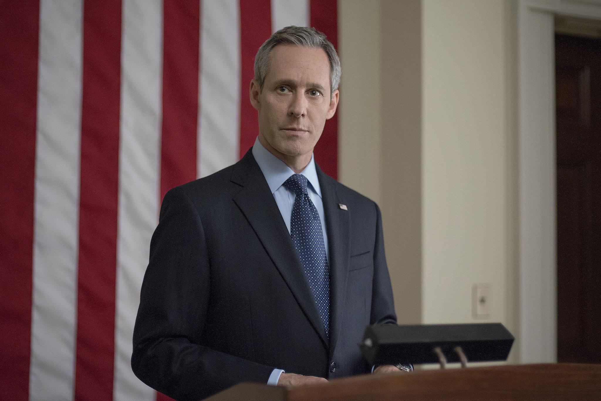 President Walker makes a speech on House of Cards. Source: Netflix