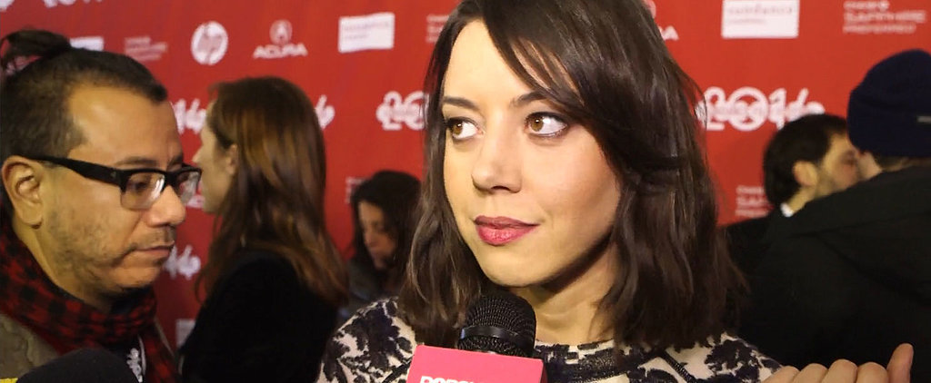 """Aubrey Plaza """"Did a Lot of Drugs"""" For Her Latest Role"""