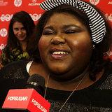 Gabourey Sidibe White Bird in a Blizzard Interview