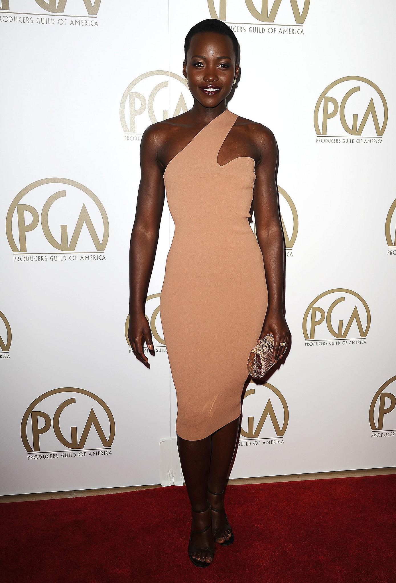 Lupita Nyong'o at the Producers Guild Awards