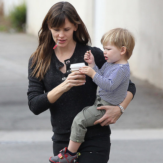 Jennifer Garner and Samuel Affleck at the Park in LA