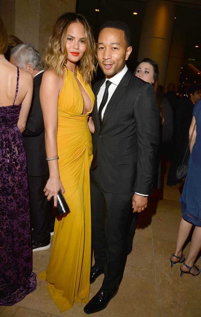 Chrissy Teigen and John Legend were a fashionable pair.