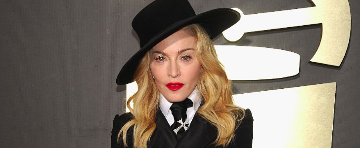 Vote: Only Madonna Could Pair a Grill With Red Lipstick!