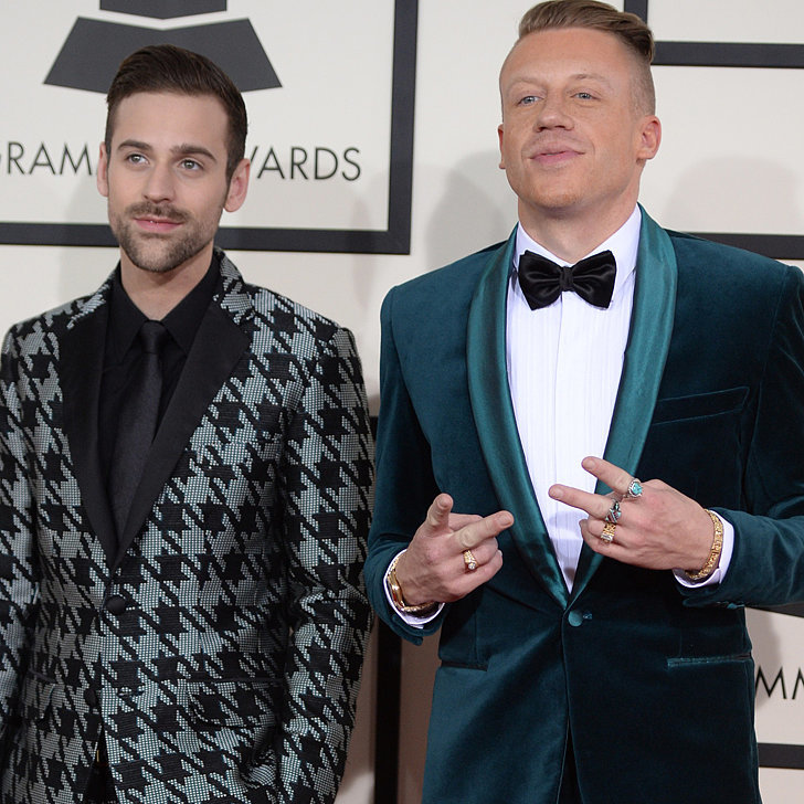 Macklemore and Ryan Lewis's Suits at Grammys 2014