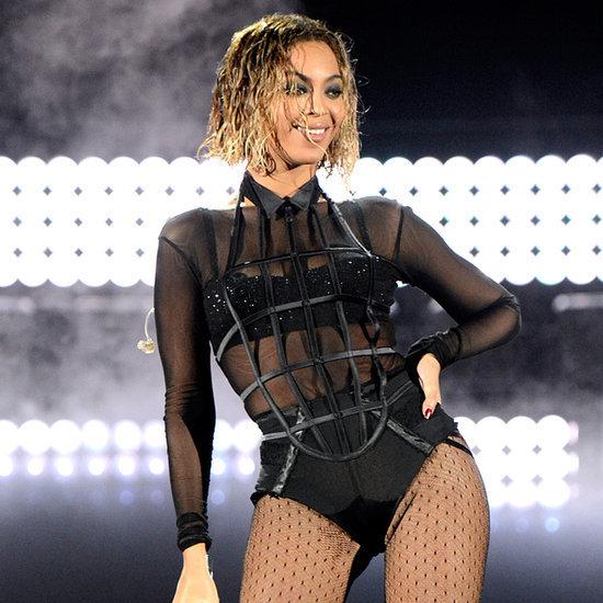 Beyonce's Short Bob Hair and Makeup at the Grammys 2014