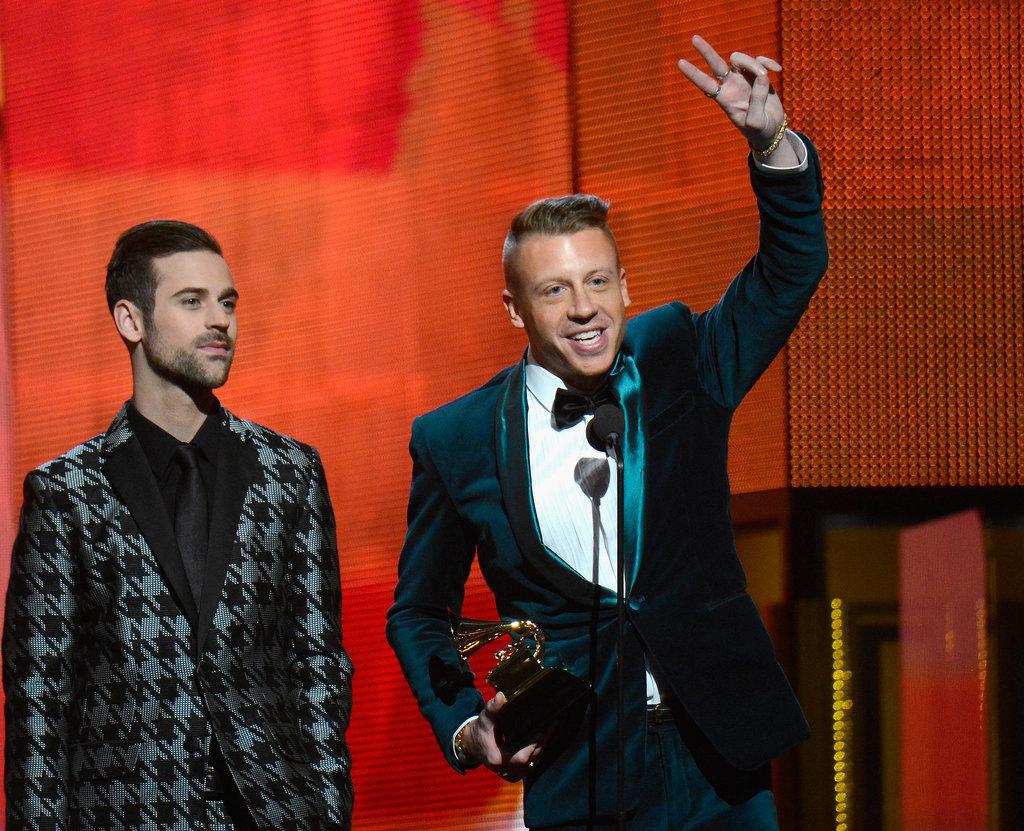 Macklemore & Ryan Lewis won best new artist at the Grammys.