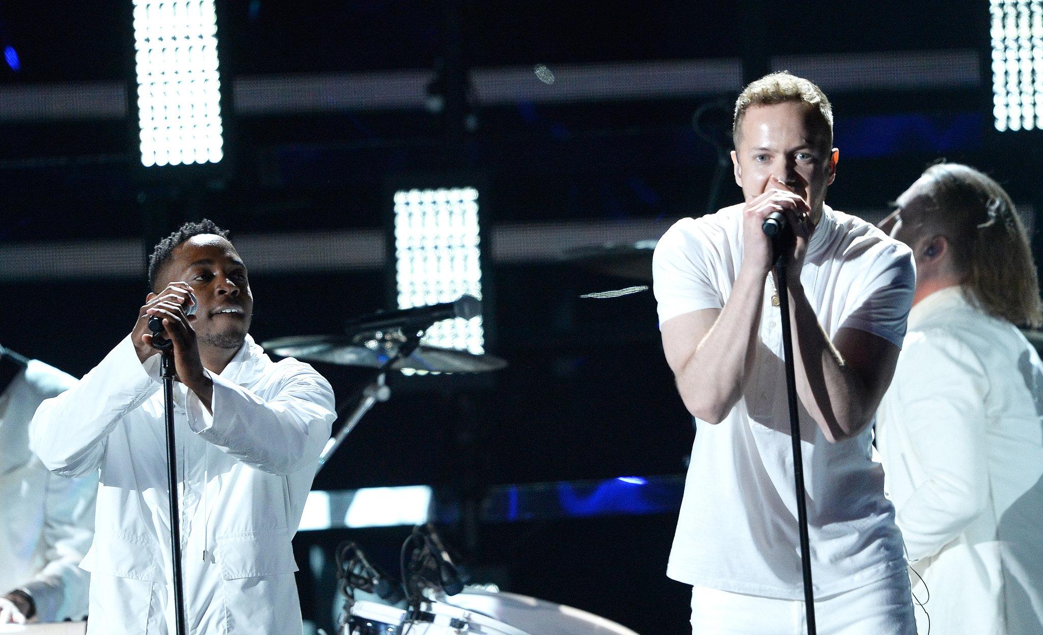 Dan Reynolds and Kendrick Lamar performed together