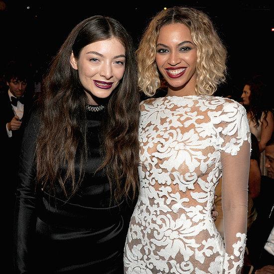 Dark Lipstick Makeup Trend at the Grammys 2014